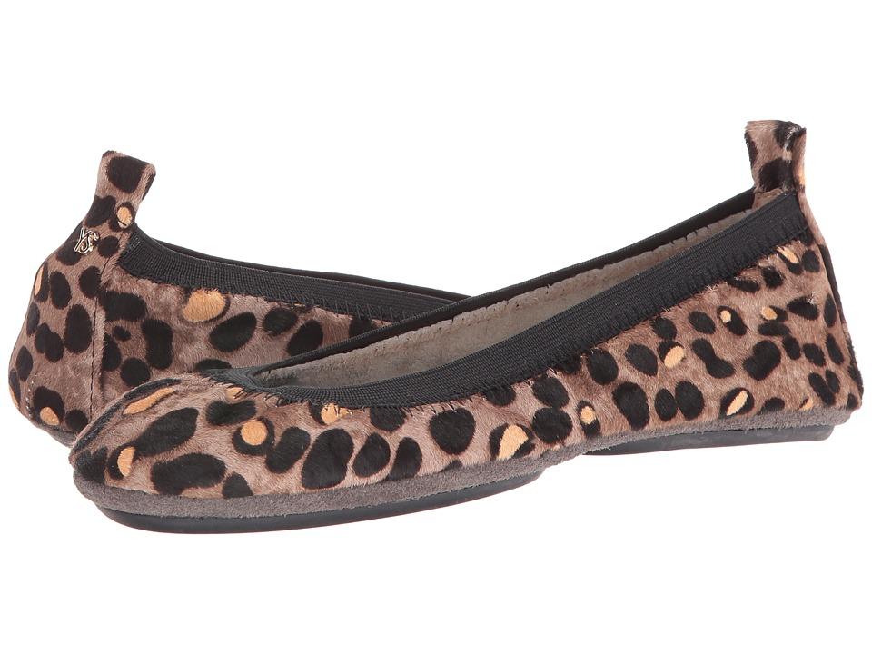 Yosi Samra - Samara Cheetah Pop (Smoke) Women's Shoes