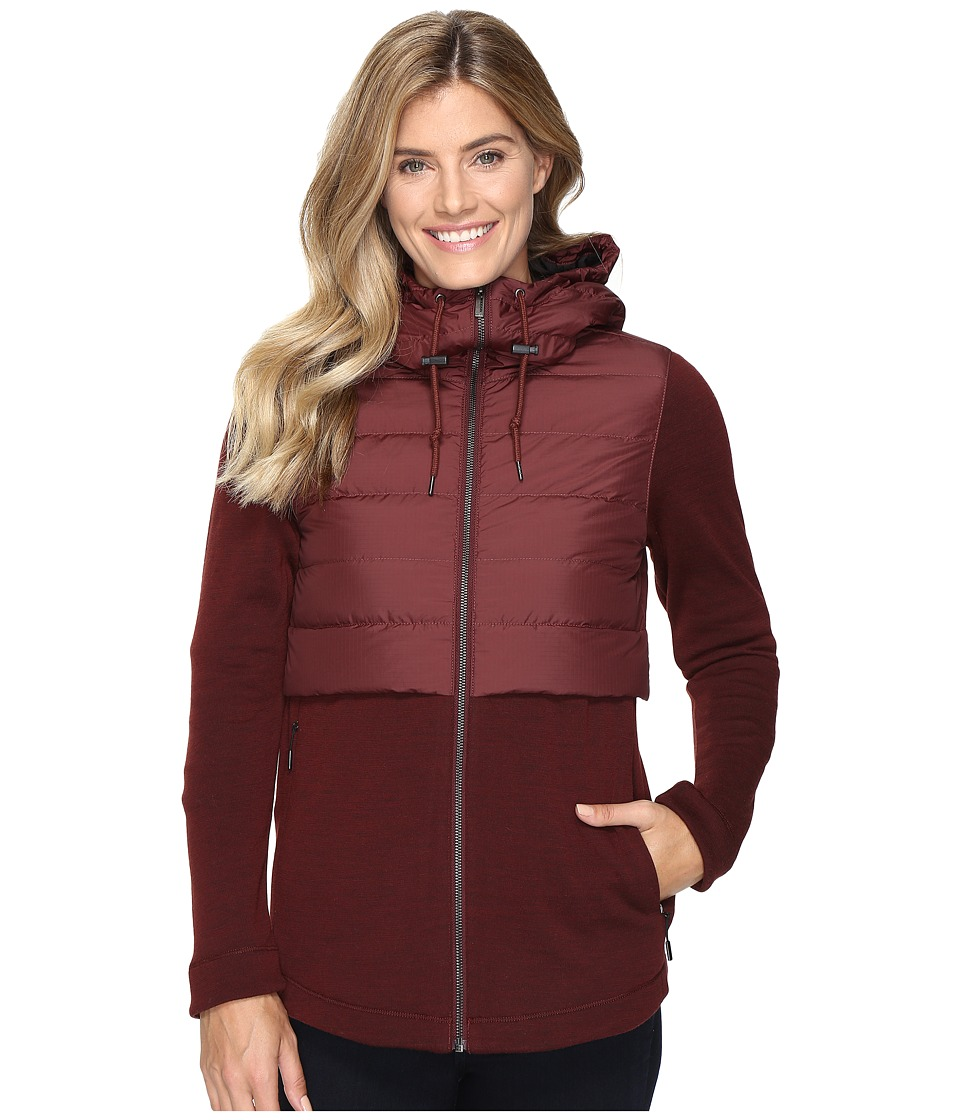 NAU - Randygoat Down Hoodie (Redwood) Women's Sweatshirt