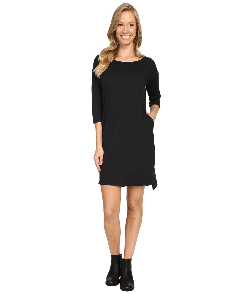 NAU - Repose Scoop Neck Dress (Caviar) Women's Dress