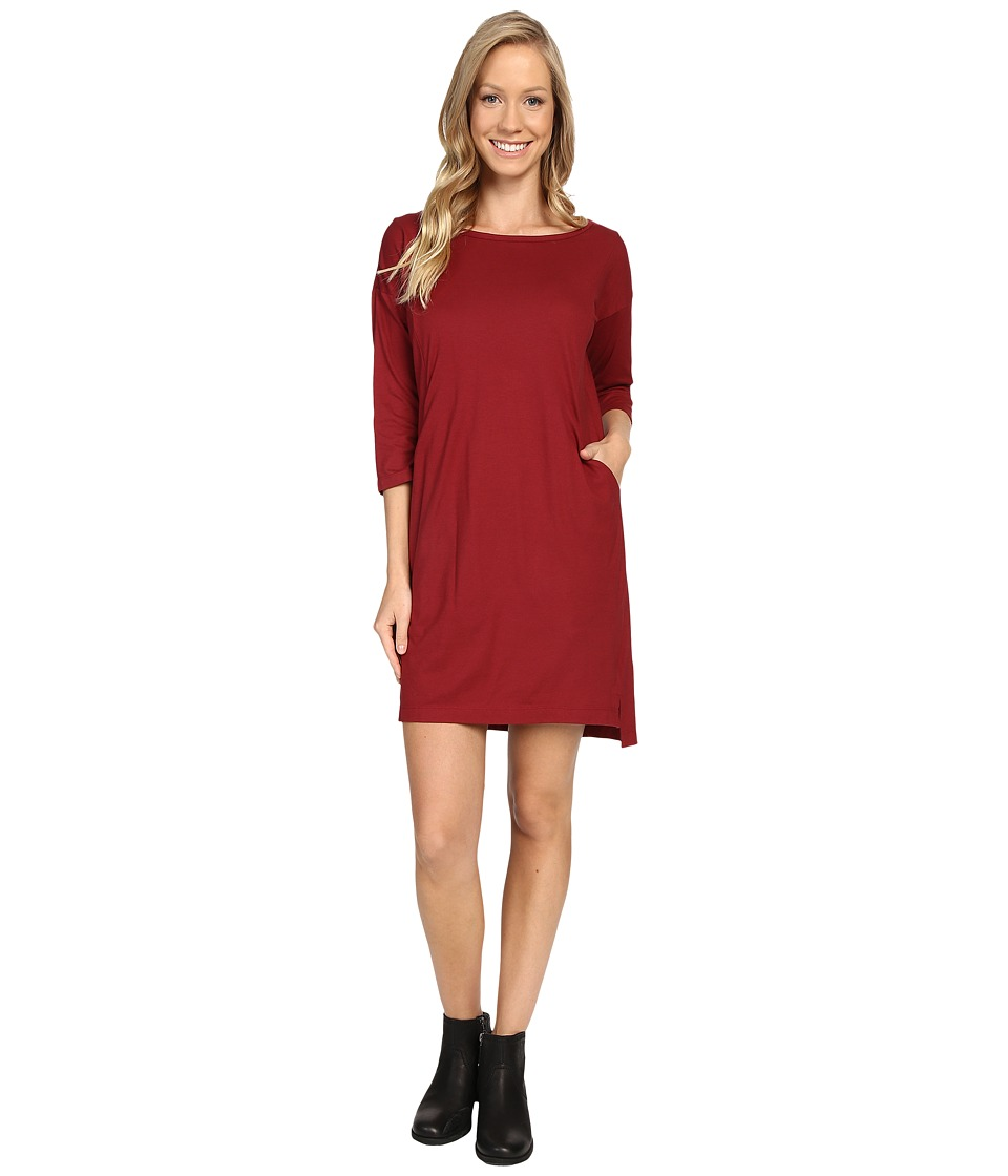 NAU - Repose Scoop Neck Dress (Pomegranate) Women's Dress