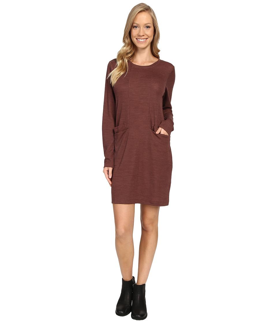 NAU Randygoat Lite Shift Dress (Redwood Heather) Women