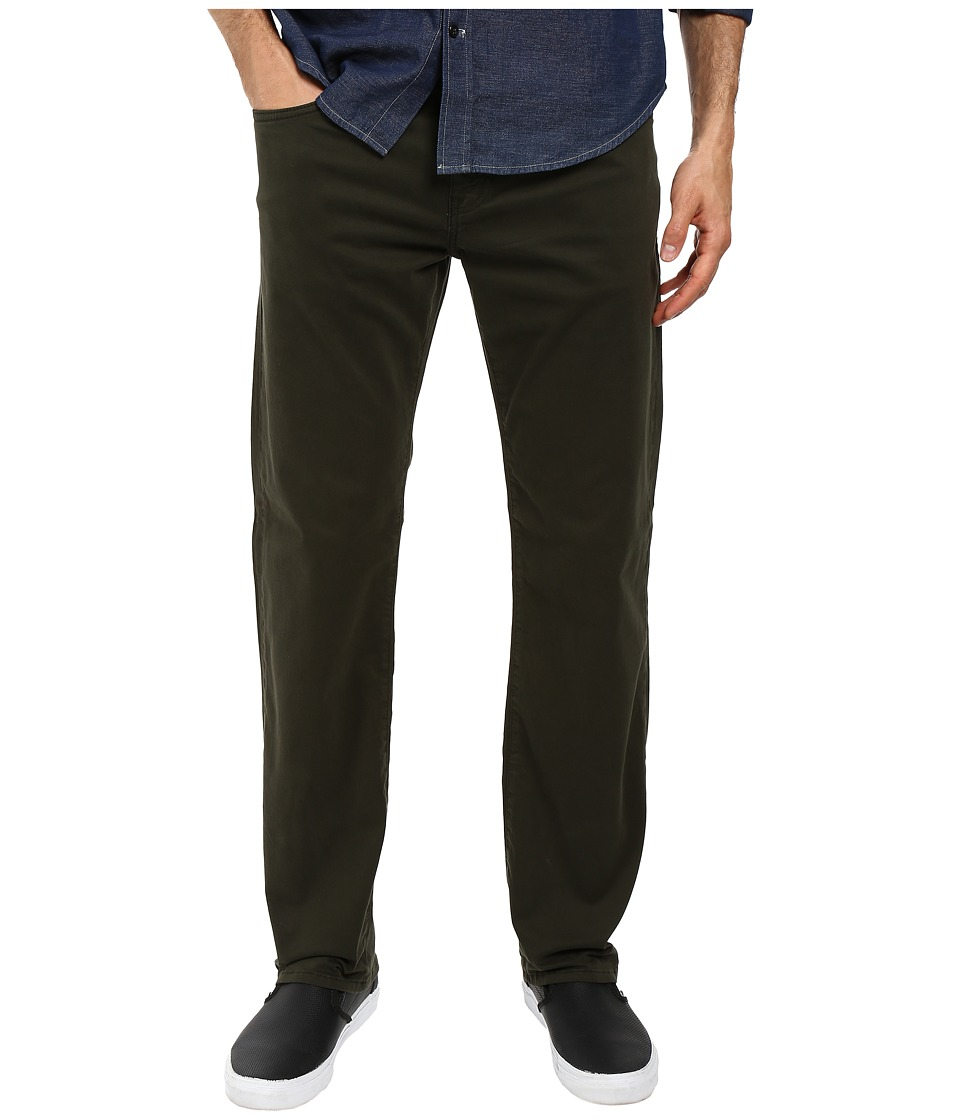 Mavi Jeans Zach Classic Straight Leg in Rosin Twill (Rosin Twill) Men