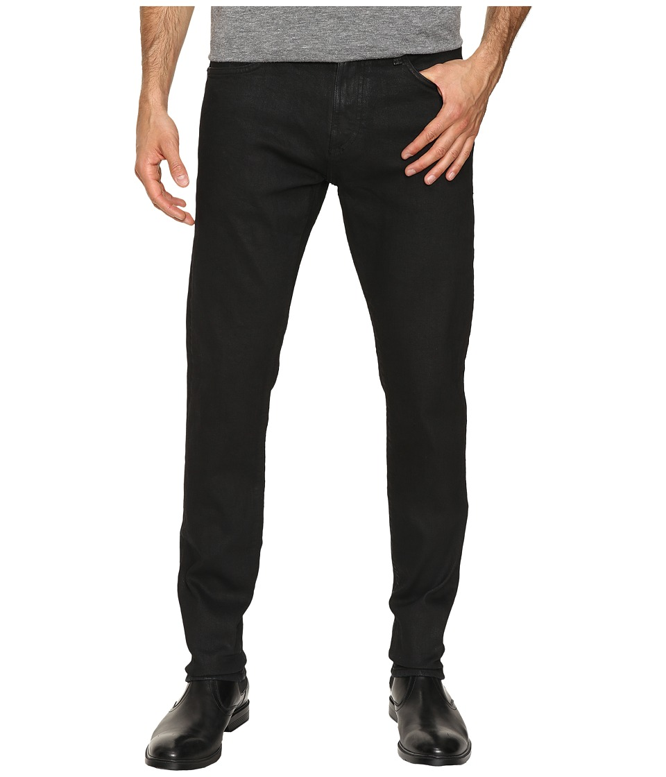 Mavi Jeans - Jake Tapered Fit in Black/Indigo Coated White Edge (Black/Indigo Coated White Edge) Men's Jeans