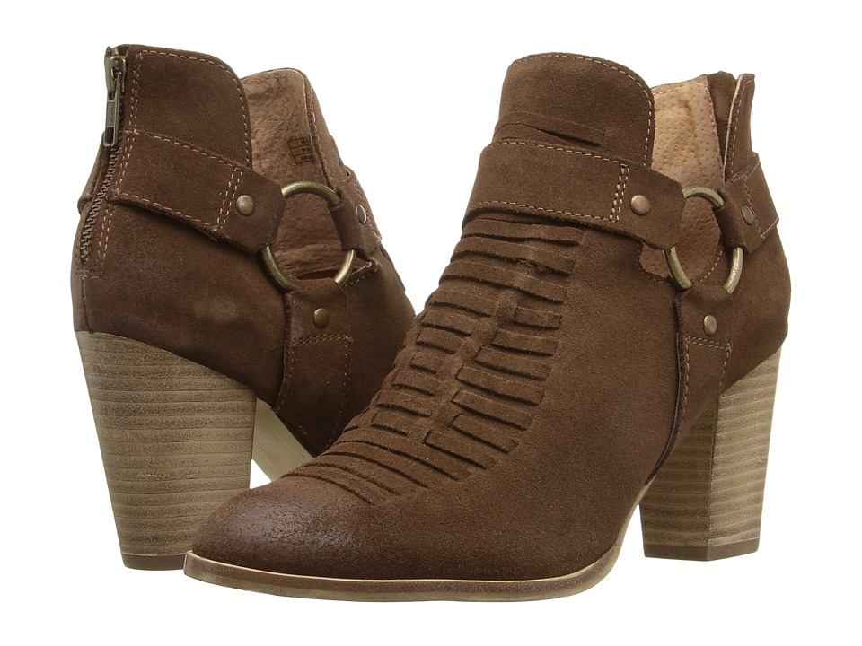 Ariat Unbridled Jaelle (Tumbled Brown Suede) Cowboy Boots