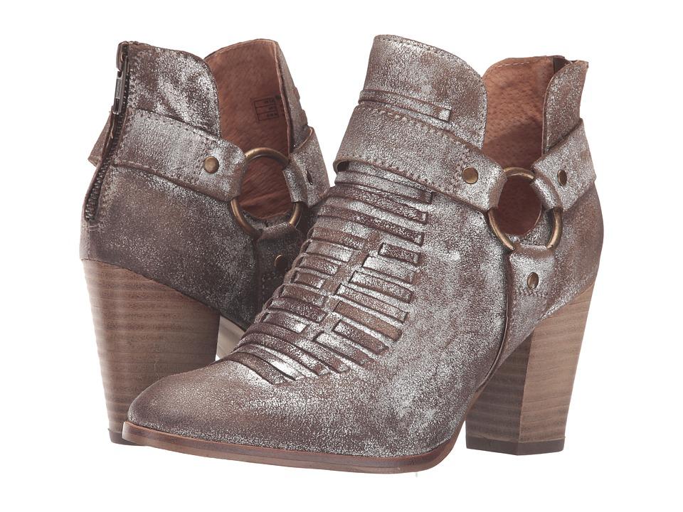 Ariat Unbridled Jaelle (Metallic Suede) Cowboy Boots