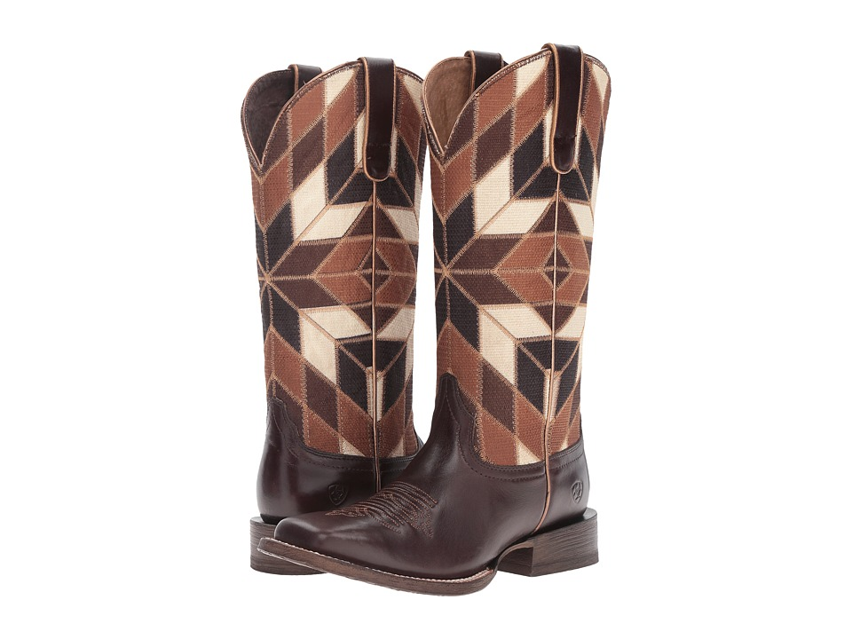 Ariat - Mirada (Bittersweet Chocolate/Shades of Brown) Cowboy Boots