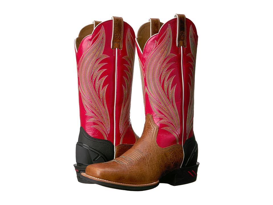 Ariat - Catalyst Prime (Gingersnap/Calypso Coral) Cowboy Boots