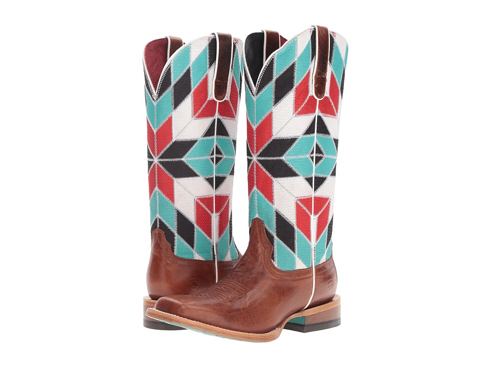 Ariat - Mirada (Caliche/Shades of Color) Cowboy Boots