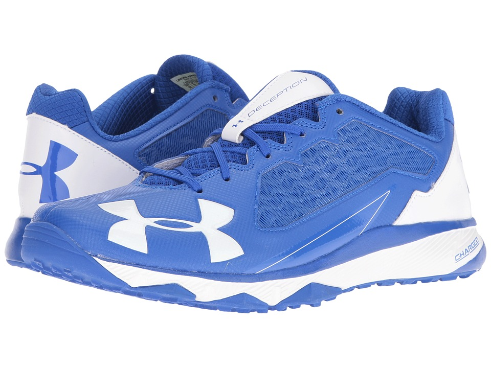 Under Armour - UA Deception Trainer (Royal/White) Men's Shoes