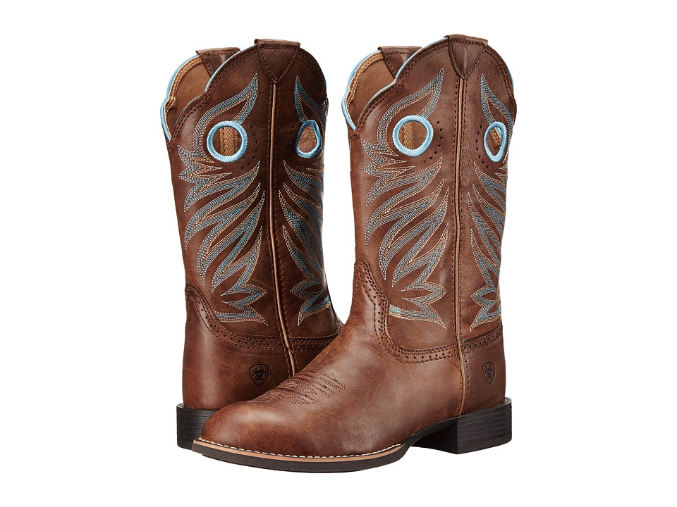 Ariat Round Up Stockman (Wood) Cowboy Boots