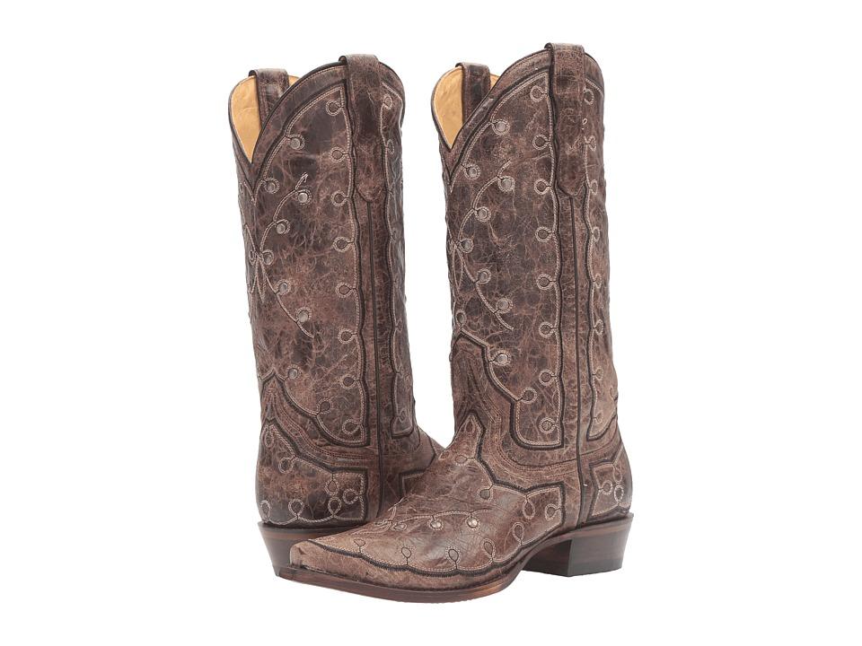 Stetson Pita (Brown) Cowboy Boots