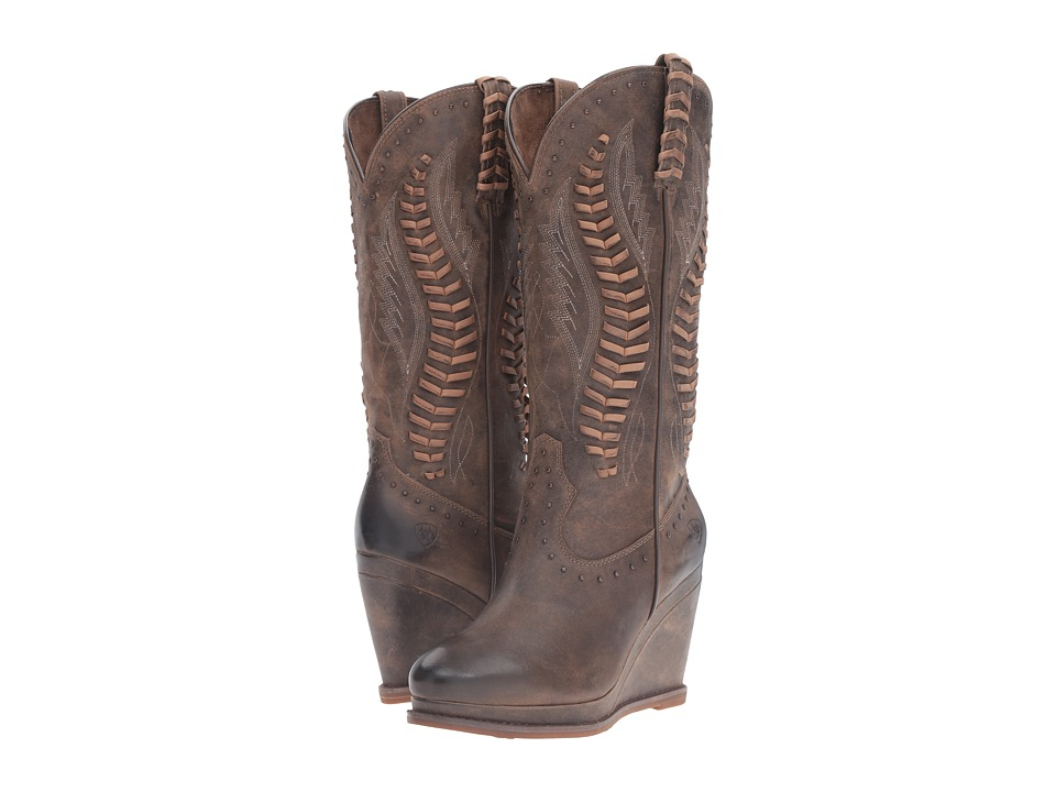 Ariat - Nashville (Dark Chocolate) Cowboy Boots