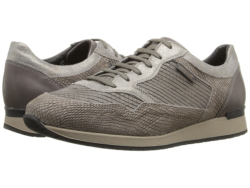 Mephisto Ninia (Dark Taupe Snake/VIP/Old Vintage/Dark Grey Silk) Women