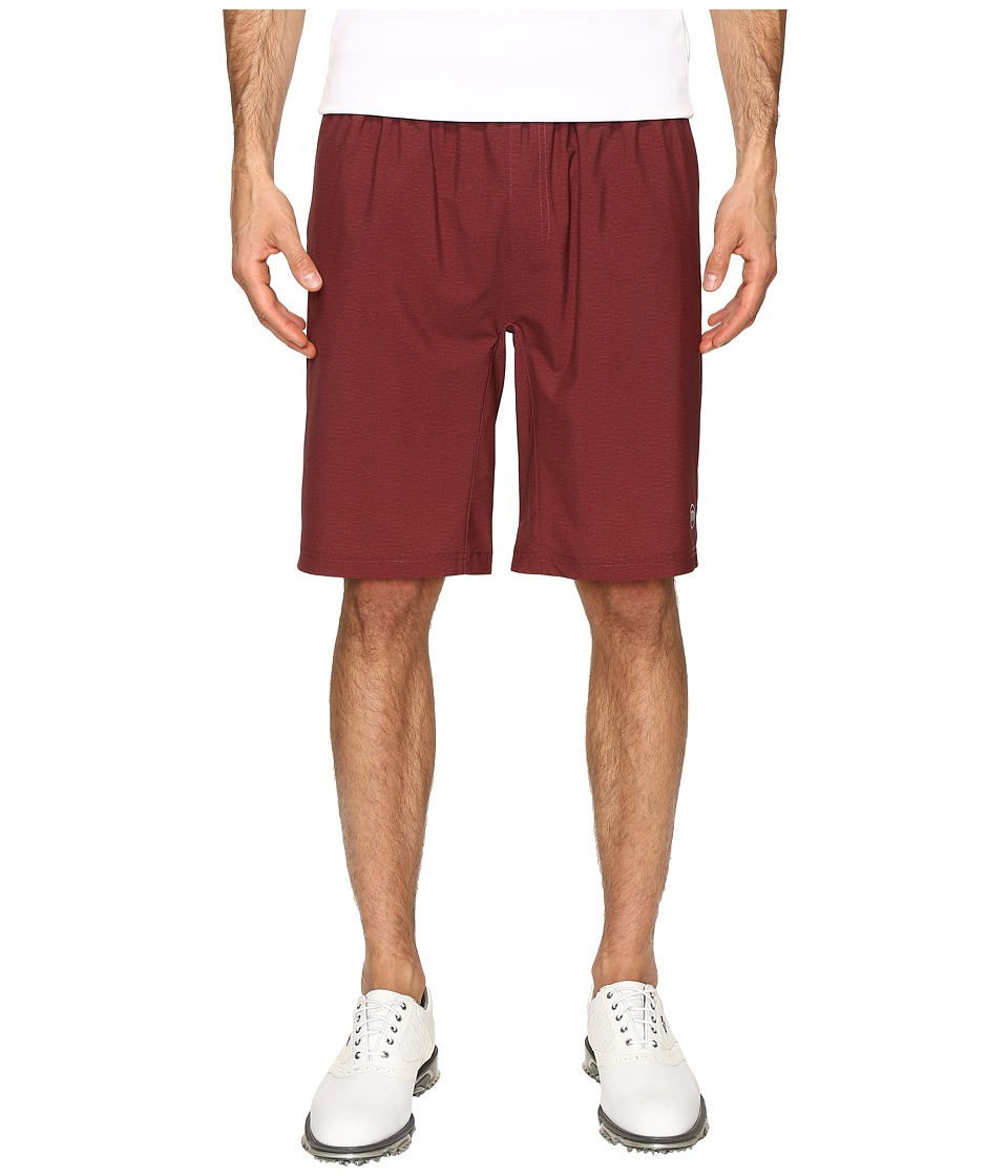 TravisMathew - Norfolk (Oxblood) Men's Shorts