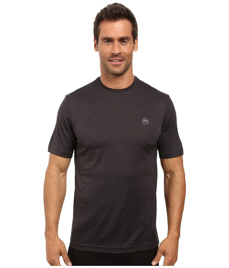 TravisMathew - The HG (Heather Magnet) Men's Short Sleeve Knit