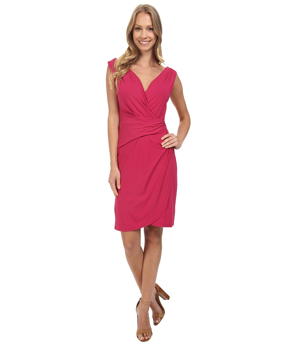 Tommy Bahama - Tambour Gathered Short Dress (Pink Papaya) Women's Dress