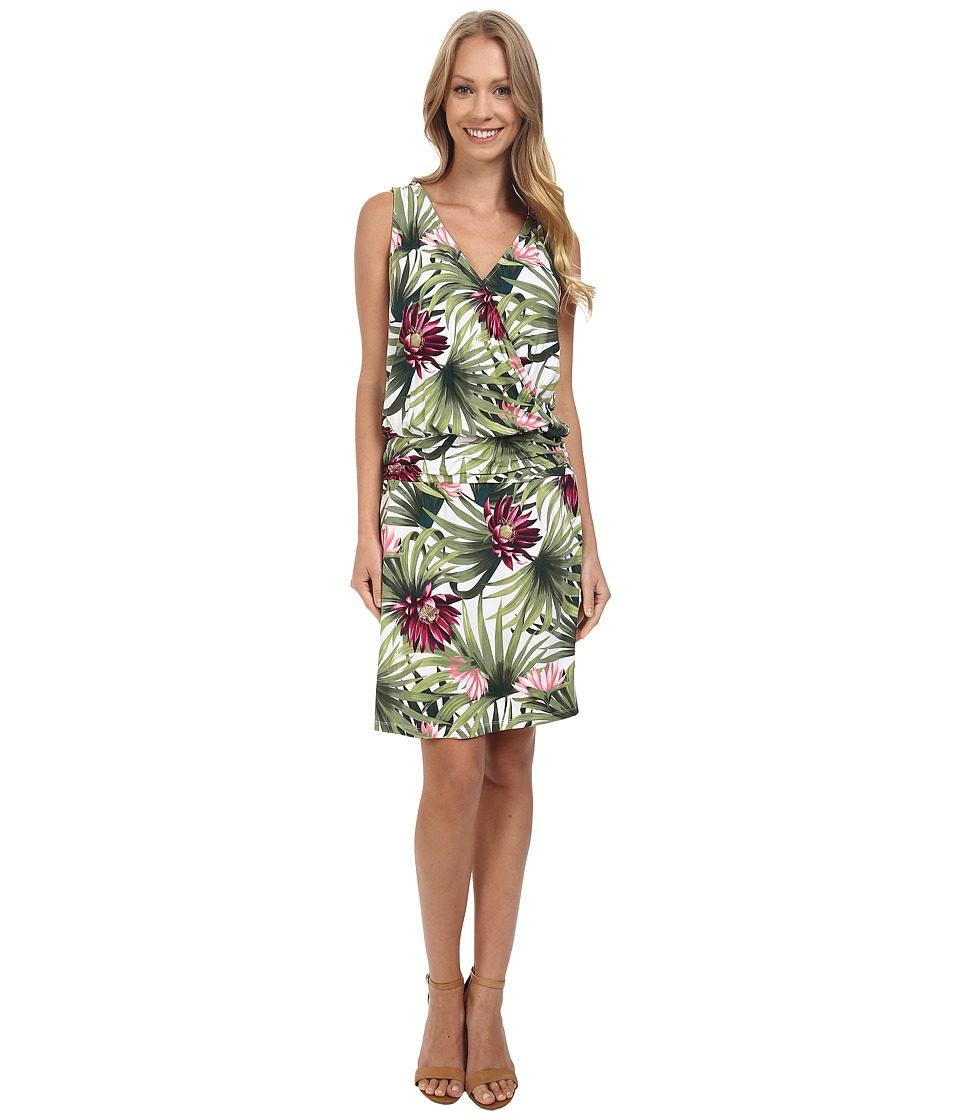 Tommy Bahama - Proteia Garden Blouson Dress (Bright White) Women's Dress