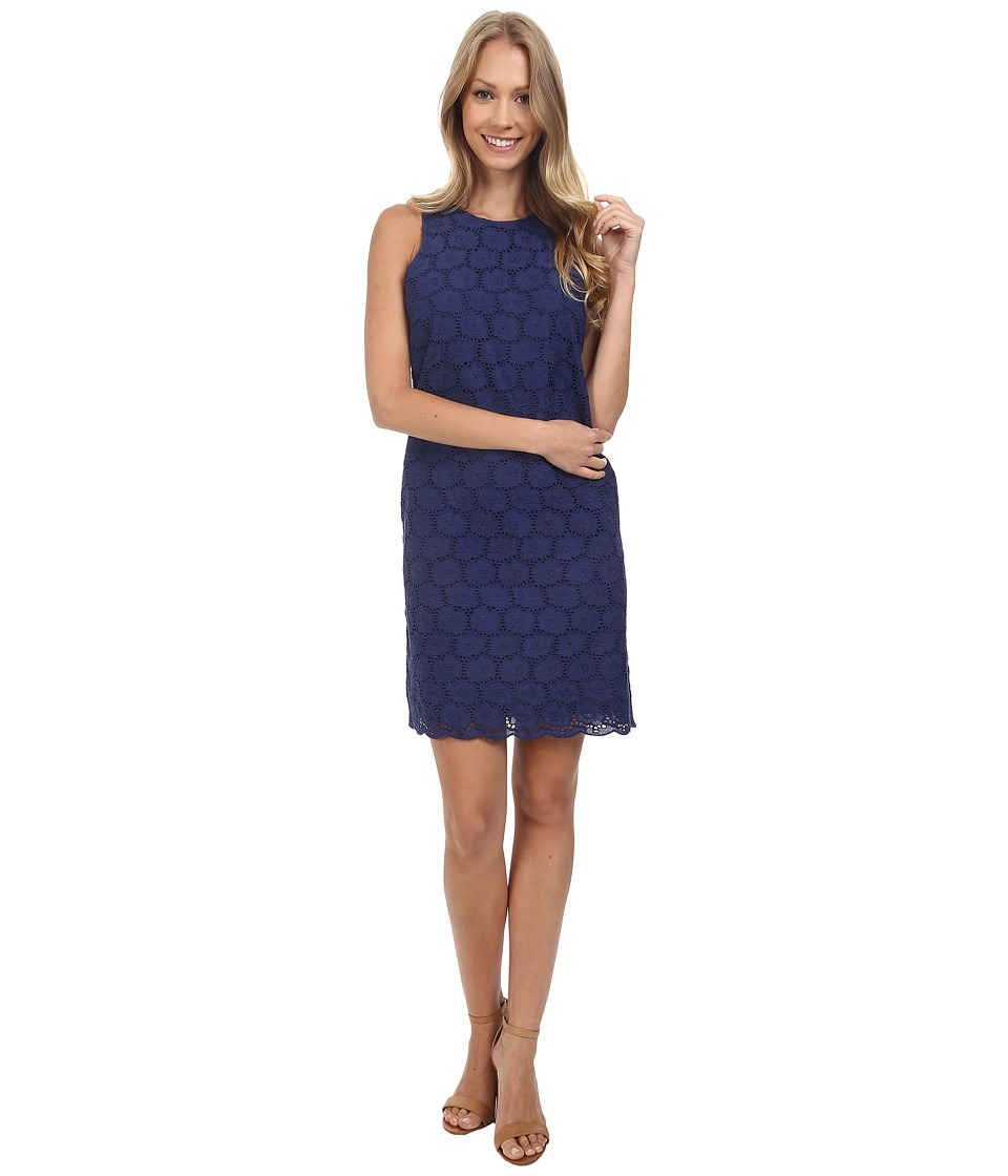 Tommy Bahama - Eyelet Love You Dress (Deep Space) Women's Dress