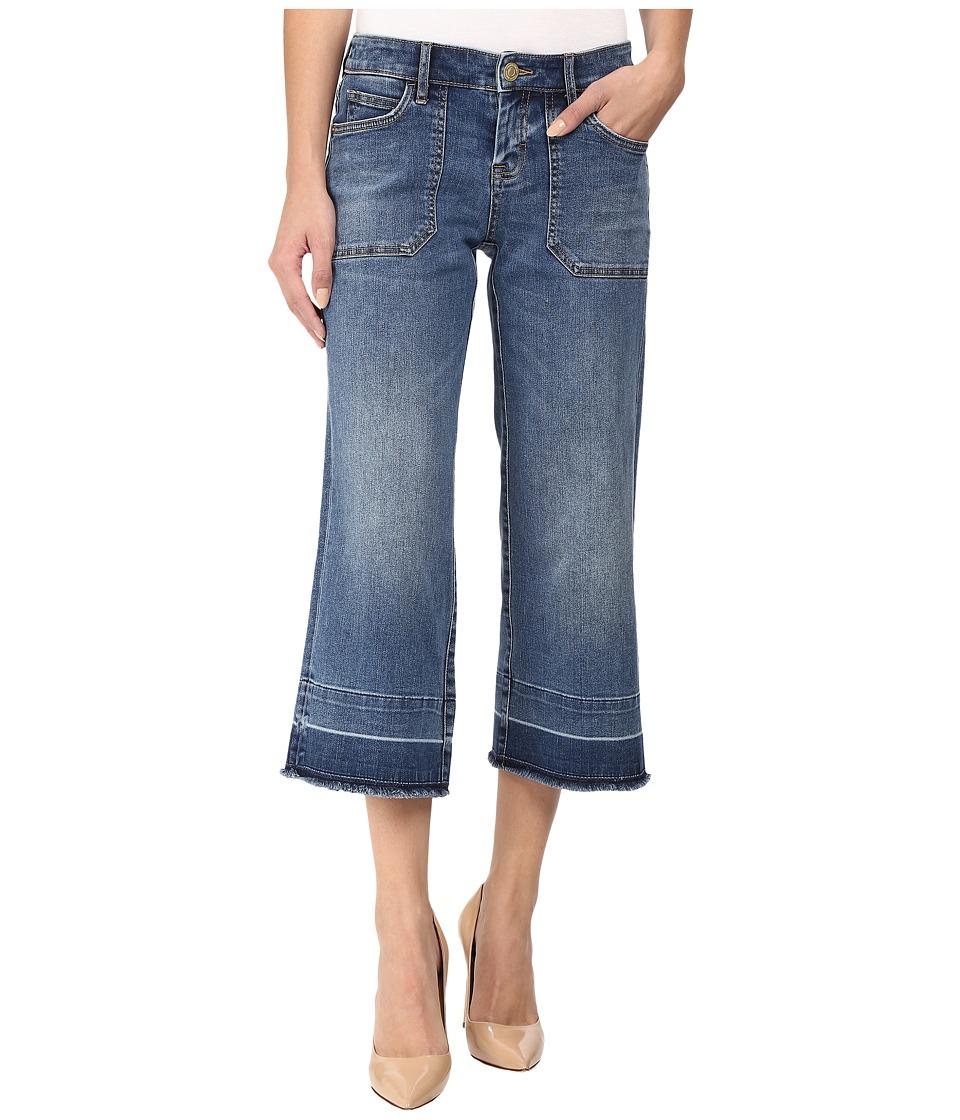 Tommy Bahama - Tema Cropped Boyfriend (Mid Sun Wash) Women's Jeans