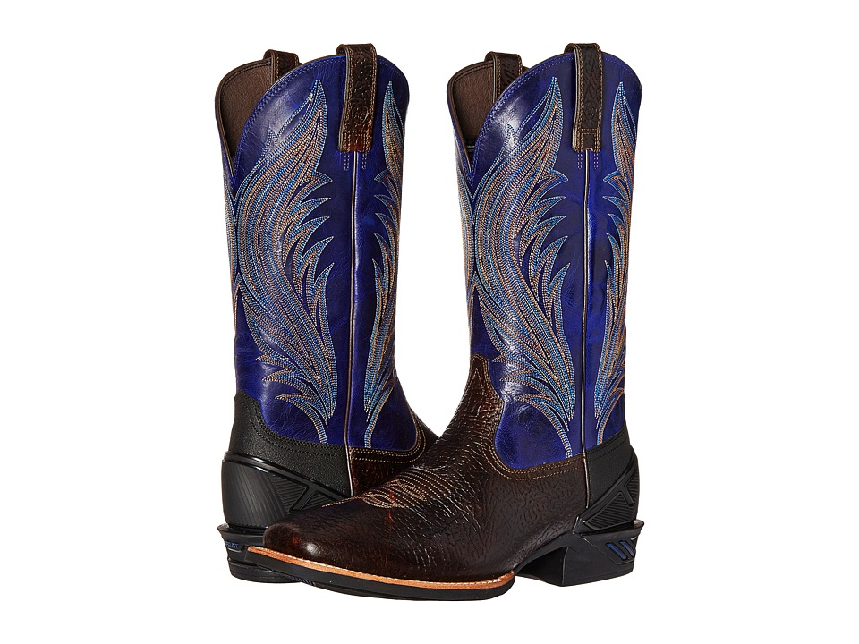 Ariat - Catalyst Prime (Glazed Bark/Twilight Blue) Cowboy Boots