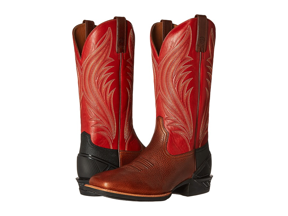 Ariat - Catalyst Prime (Adobe Mocha/Bruschetta) Cowboy Boots
