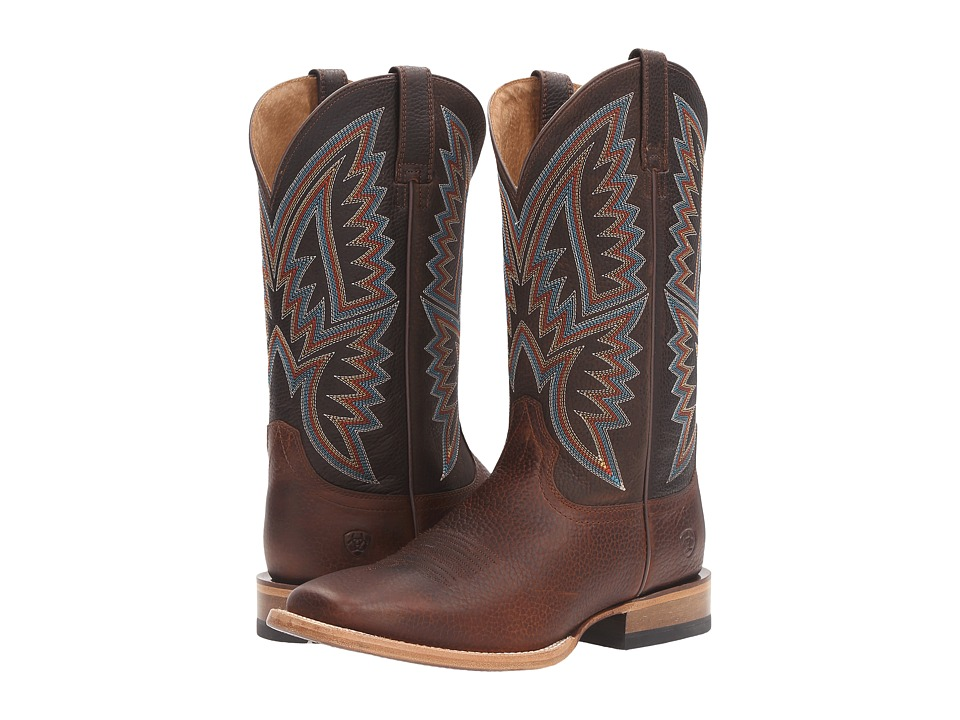 Ariat - Hesston (Old Saddle Brown) Cowboy Boots