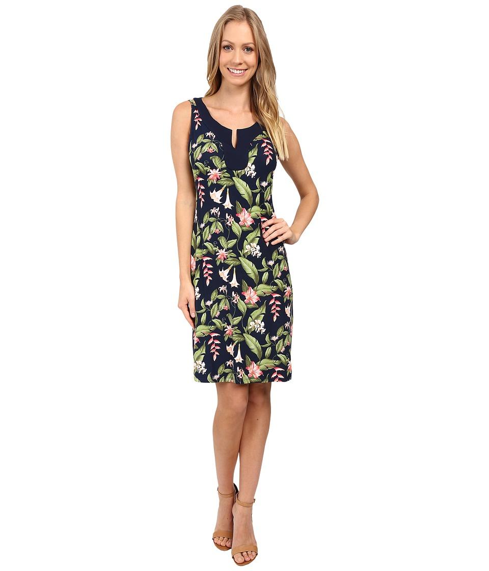 Tommy Bahama - Botanical Beauty Sleeveless Dress (Coastline) Women's Dress