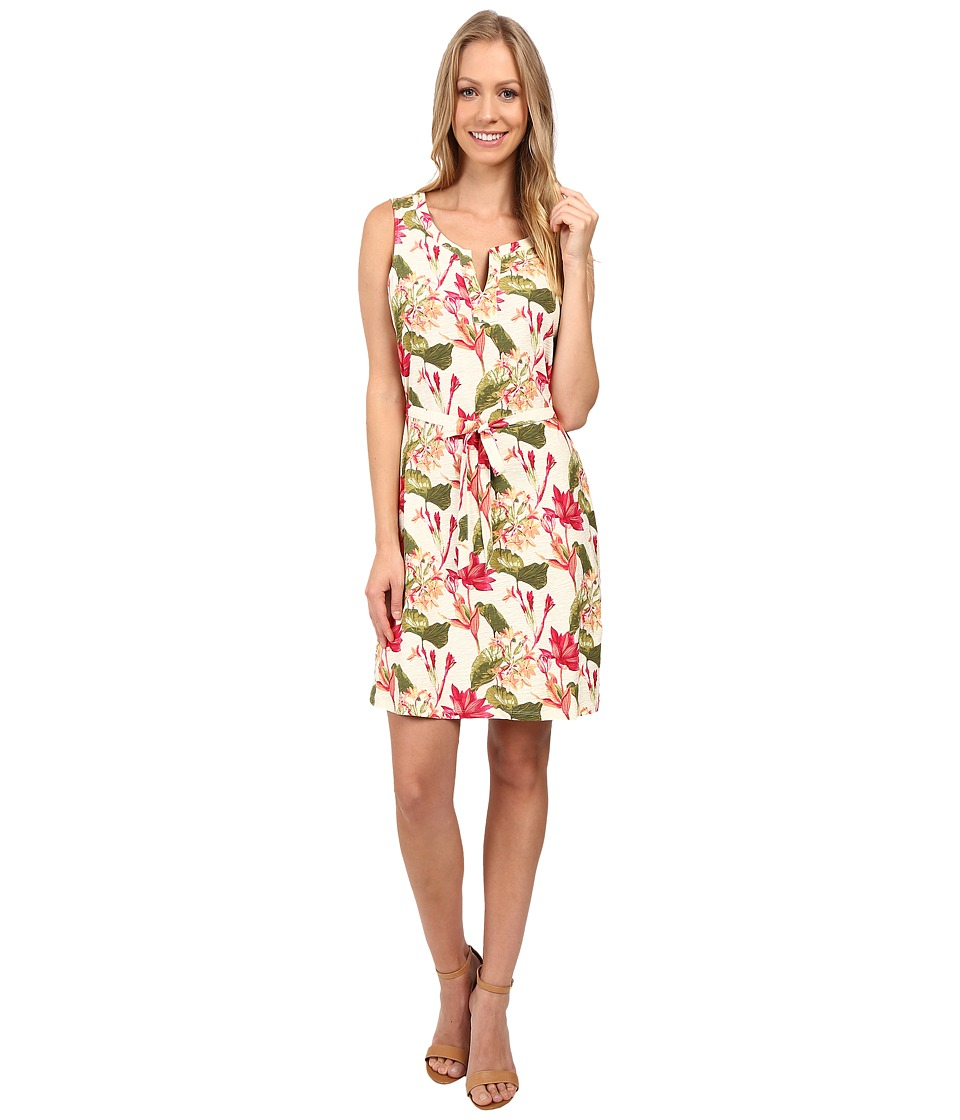 Tommy Bahama - Tropical Lillies Short Dress (Vanilla Cream) Women's Dress