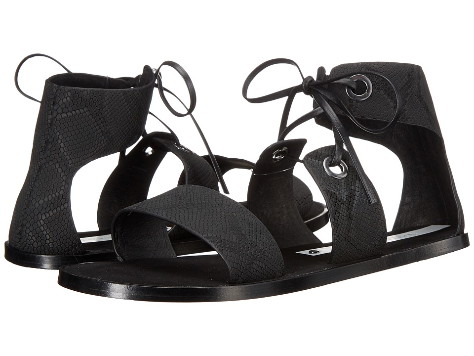 Matt Bernson - Cleo (Black Fine Snake) Women's Shoes