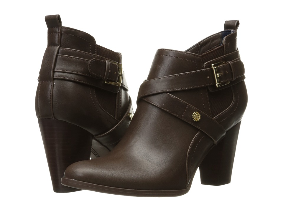 Tommy Hilfiger - Silvia3 (Roast Espresso) Women's Shoes