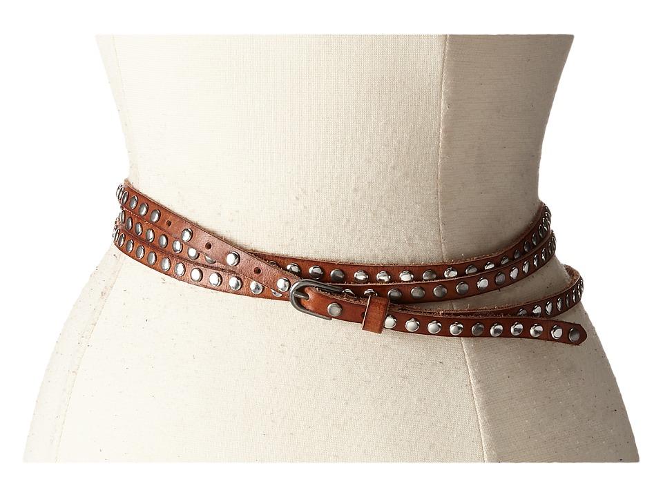 COWBOYSBELT - 109033 (Camel) Women's Belts