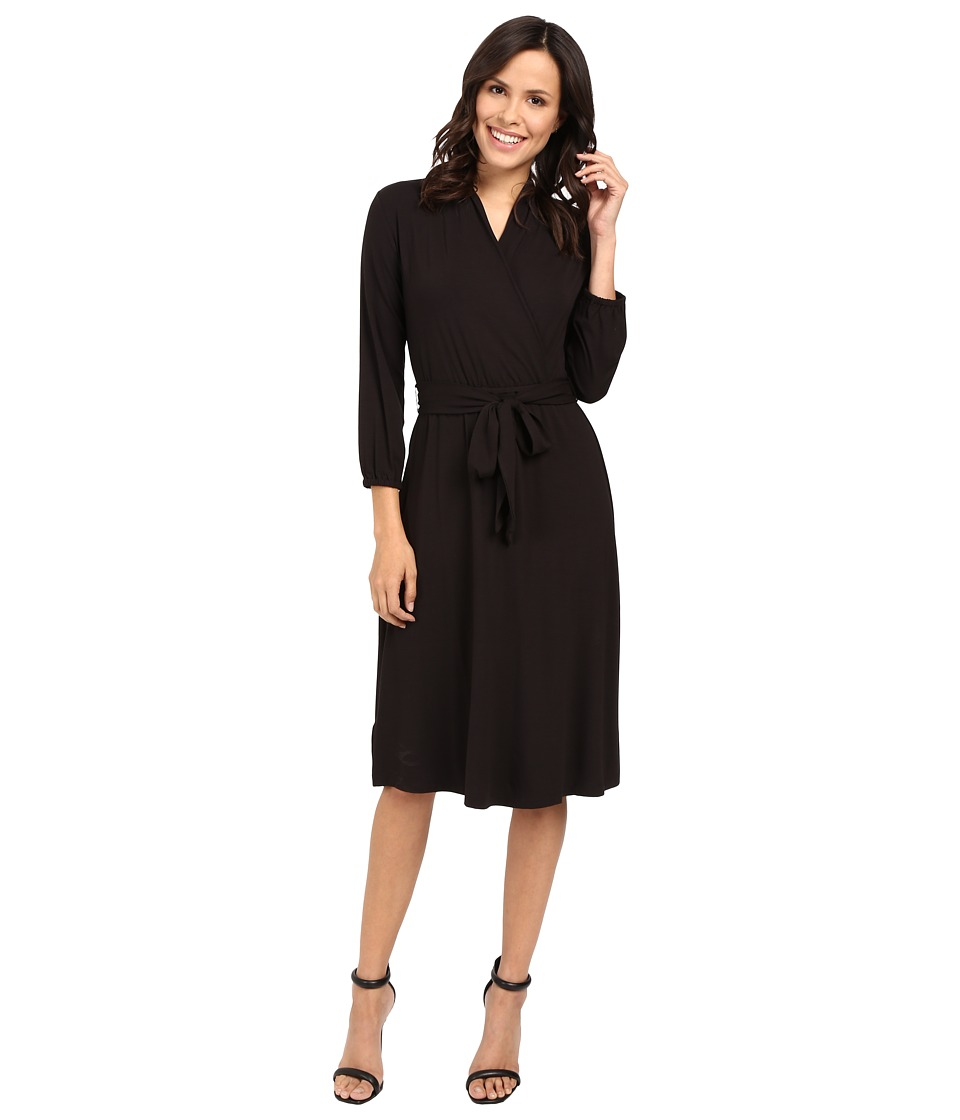 Tommy Bahama Tambour 3-4 Sleeve Wrap Dress