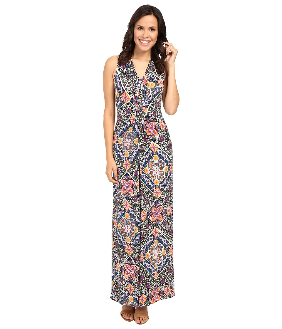 Tommy Bahama - Mosaic Relief Maxi Dress (Vanilla Cream) Women's Dress