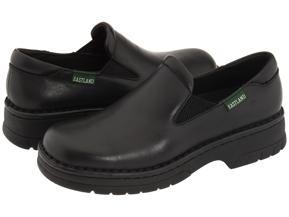 Eastland - Newport (Black Leather) Women