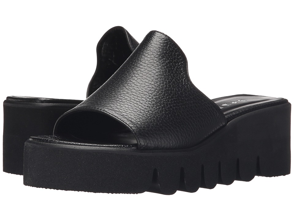 Image of ASKA - Hadley (Black Tumbled) Women's Sandals