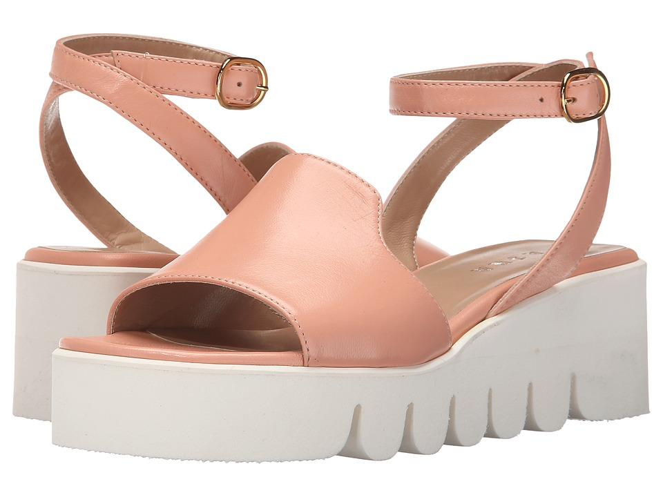 ASKA - Helen (Blush Smooth) Women's Sandals
