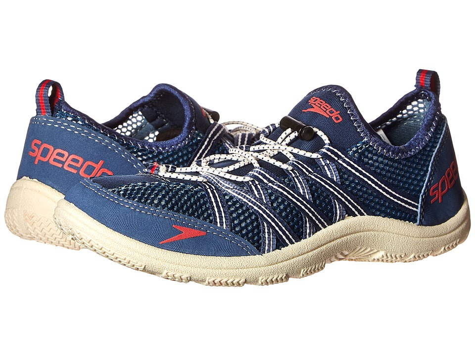 Speedo - Seaside Lace 4.0 (Insignia Blue/Bonewhite) Men's Shoes