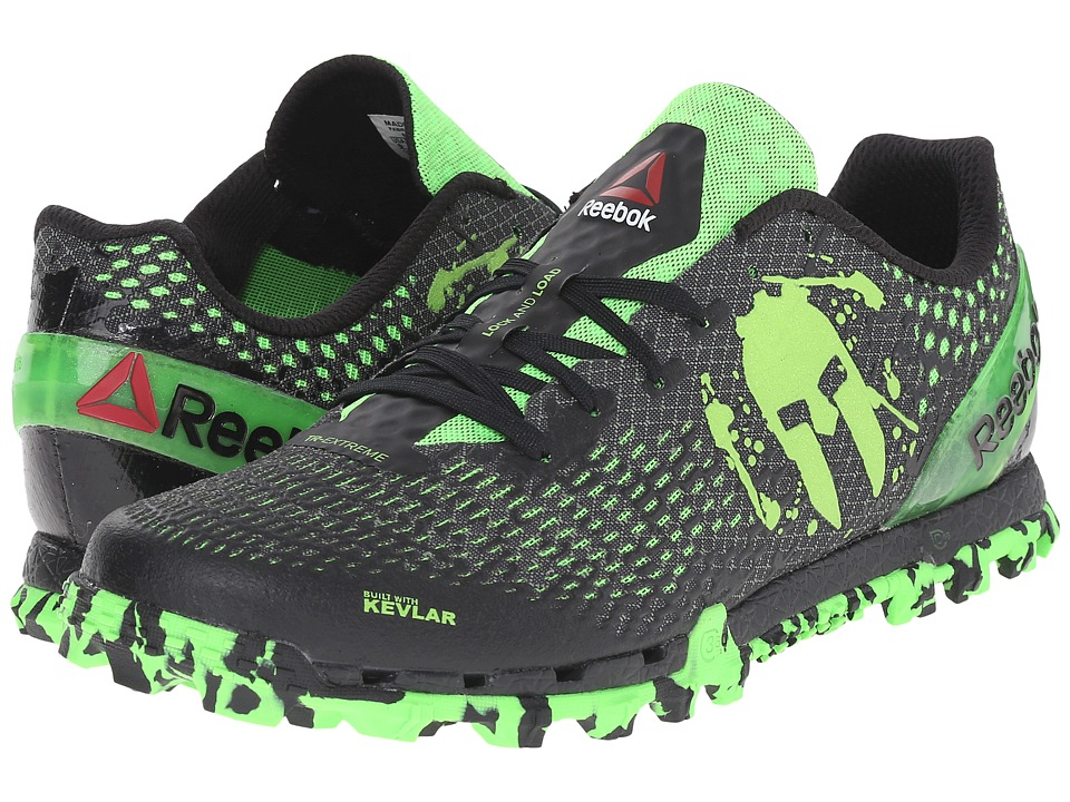 Reebok - All Terrain Extreme WC (Gravel/Black/Solar Green) Men's Shoes