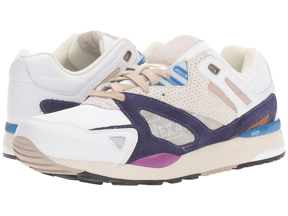 Reebok - GS Ventilator II (White/Wicked Blue/Desert) Men's Shoes