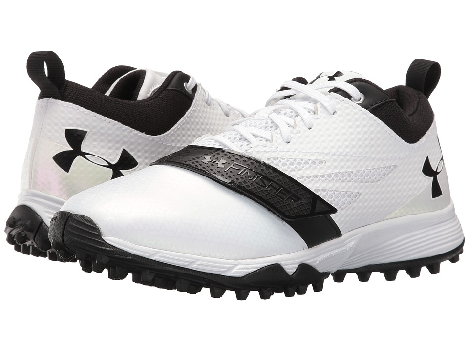 Under Armour - UA LAX Finisher Turf (White/Black) Women's Shoes
