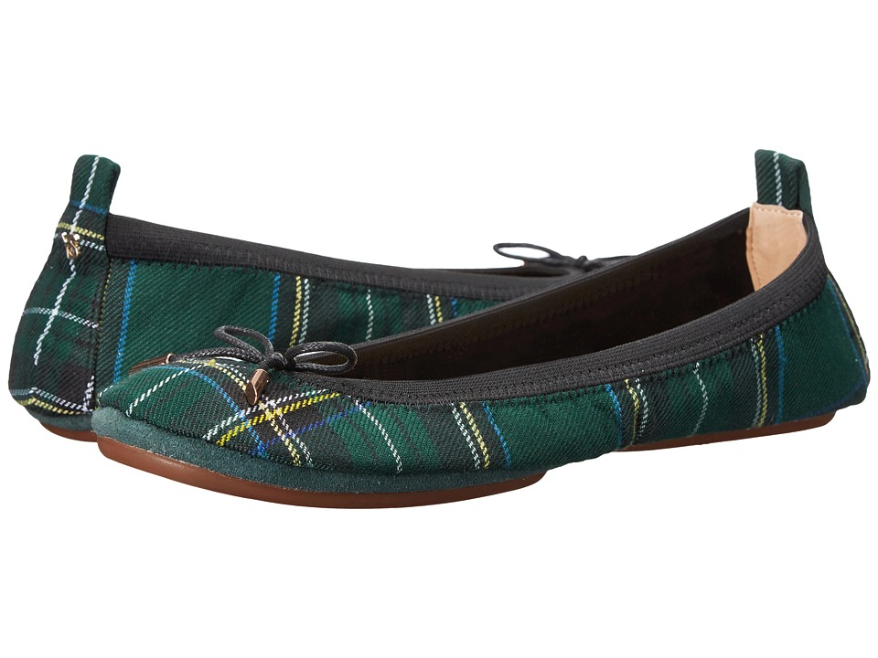 Yosi Samra - Sandrine (English Green) Women's Shoes