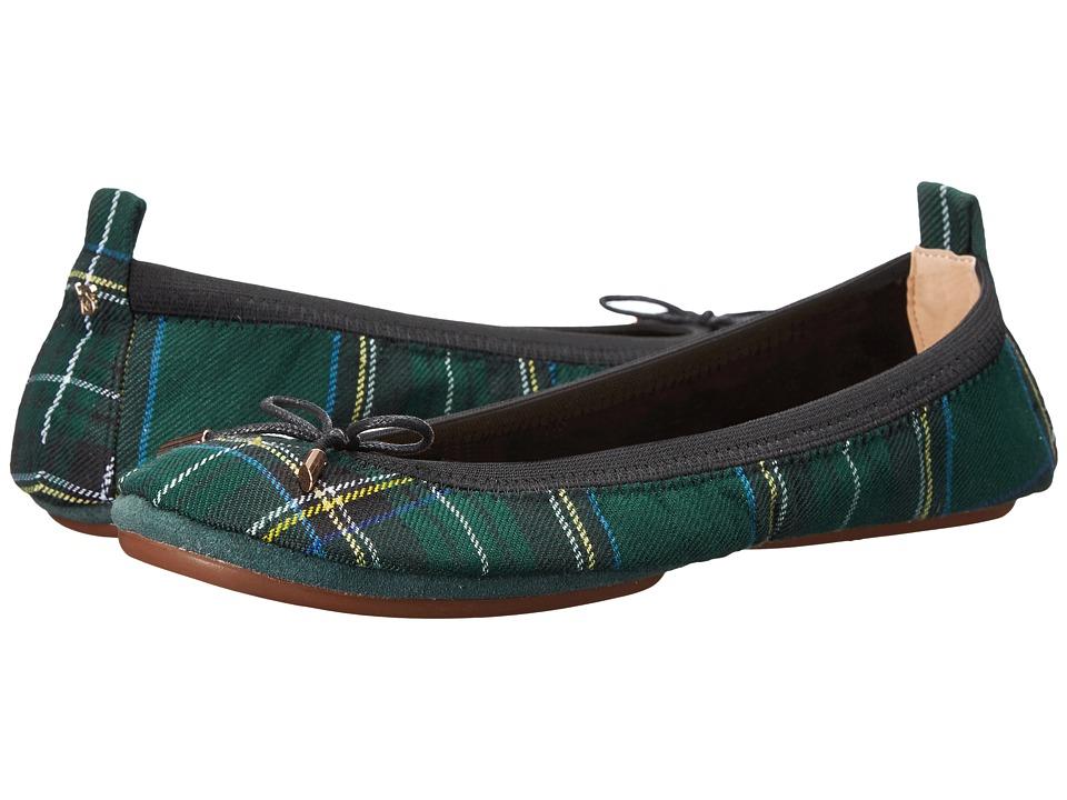 Yosi Samra - Sandrine (English Green) Women's Shoes