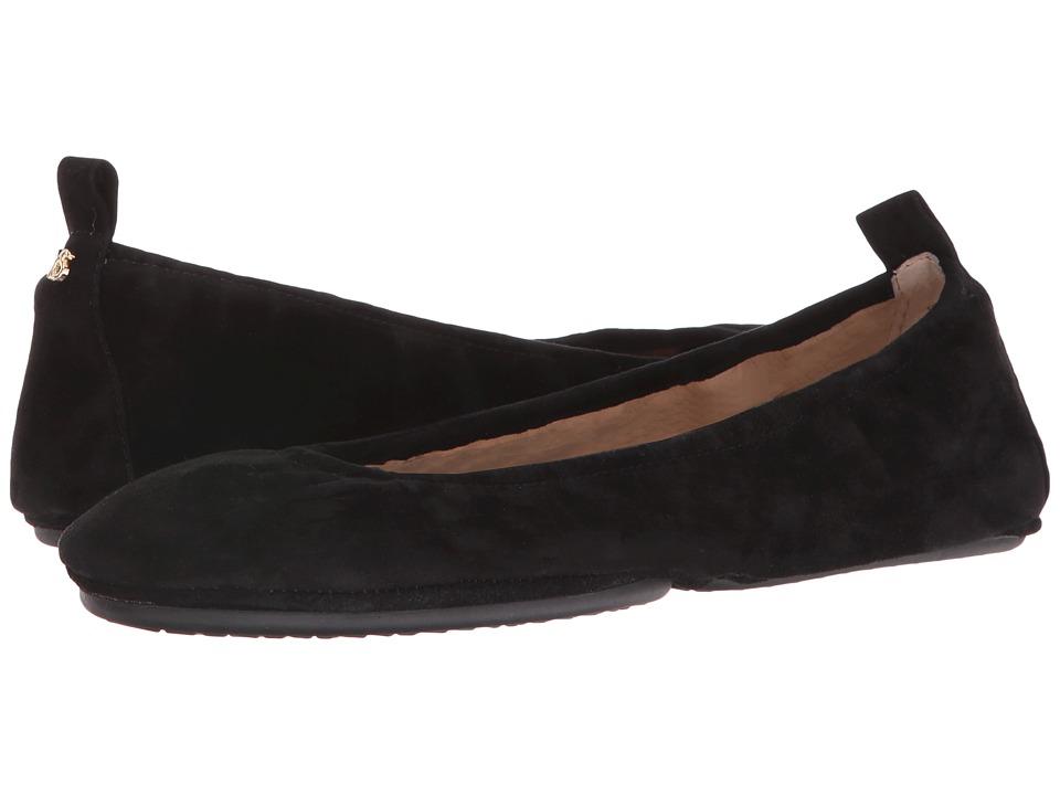 Yosi Samra - Stella Suede (Black) Women's Shoes