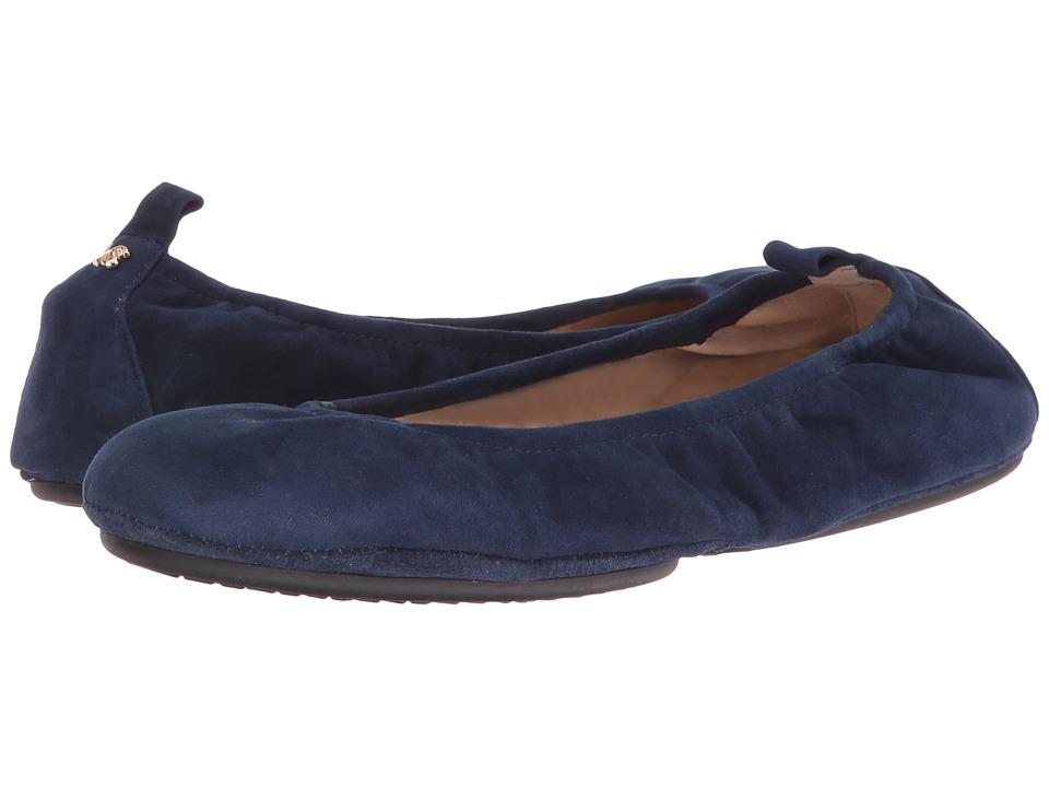 Yosi Samra - Stella Suede (Sapphire) Women's Shoes