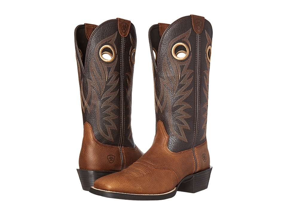 Ariat - Sport Outrider (Copper Kettle/Desert Palm) Cowboy Boots