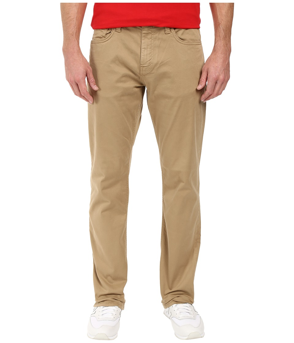 Mavi Jeans - Myles Casual Straight in British Khaki (British Khaki) Men's Jeans