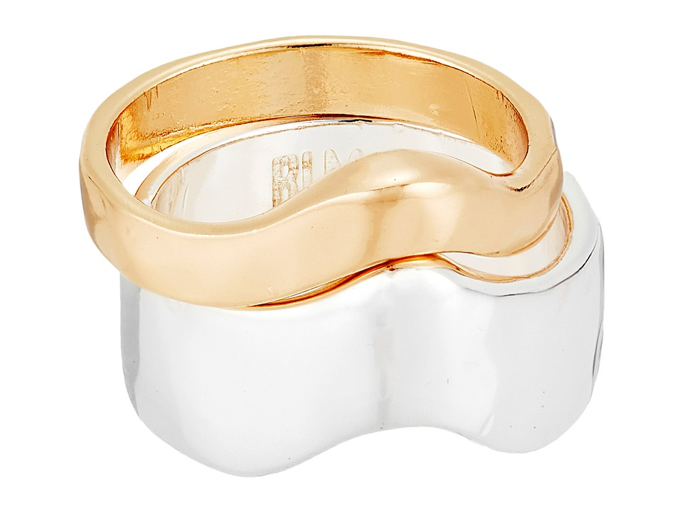 Robert Lee Morris - Two-Tone Stackable Ring Set (Two-Tone) Ring