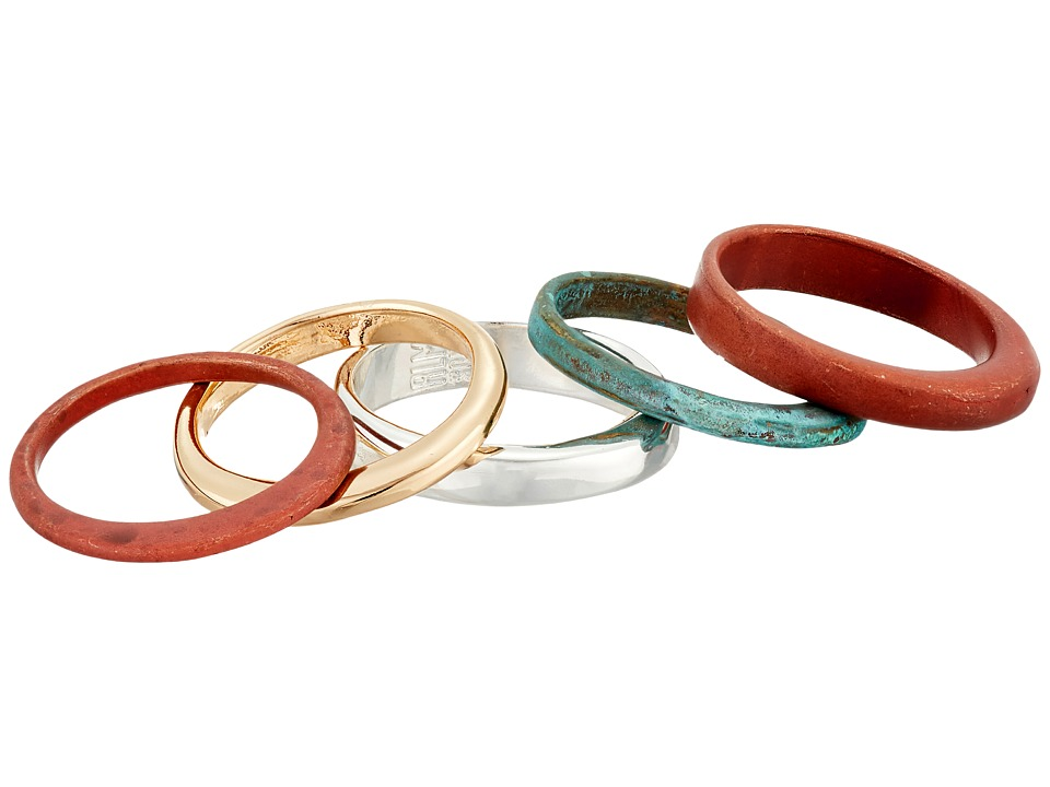 Robert Lee Morris - Stackable Patina Ring Set (Patina) Ring