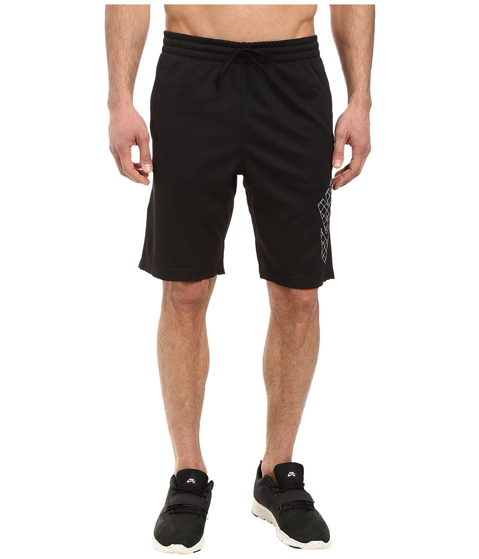 Nike SB - SB Dri-FIT Grid Sunday Shorts (Black/White) Men's Shorts