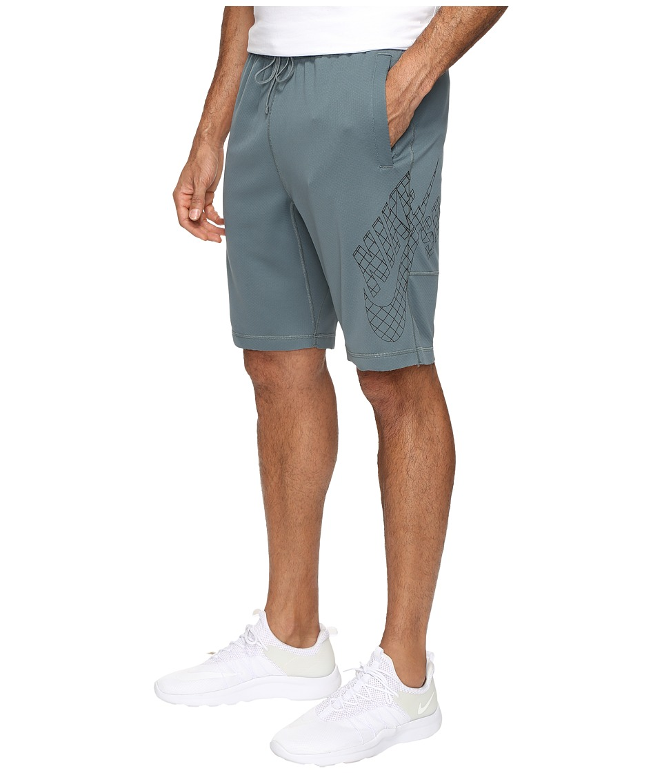 Nike SB - SB Dri-FIT Grid Sunday Shorts (Hasta/Black) Men's Shorts